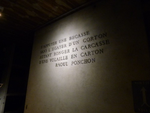 Patriarche Beaune - wine cellars - sign - Raoul Ponchon