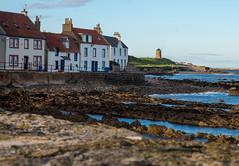 St Monans (Photeelover) Tags: quaint village daylight summer wall rockformations rocks houses water sea landscape windmill anstruther scotland fife stmonans