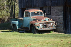 DSC_5706 (NewCreationPhotographics) Tags: cars trucks outdoors metal old wheels ride