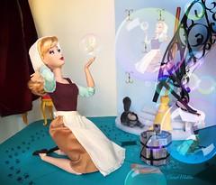 Oh, Sing Sweet Nightingale (AaronMalibu) Tags: cinderella doll disney store princess mattel dfdc designer