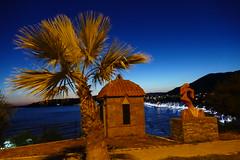 Özdere, Sevgi parkı (JB Fotofan) Tags: turkey türkiye türkei özdere blauestunde bluehour lumixfz1000 blau orange abend evening