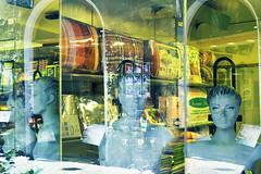Surreal composition (Vincenzo Elviretti) Tags: abstract composition riflesso vetrina negozio orvieto umbria terni italia europa manichini