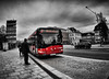 stadtbus (funki30) Tags: bus dornbirn bw blackandwhite coloriert