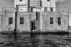 Rough (David C. McCormack) Tags: architecture blackwhite bw blackandwhite eos eos6d greatlakes harbor lakemichigan lakefront lake landscape lighthouse midwest milwaukee monochrome outdoor pier wisconsin water z