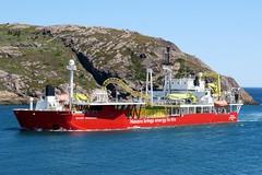 Nexans Skagerrak (deanspic) Tags: ship stjohnsharbor harbor thenarrows g3x nexansskagerrak boat cablelayingvessel newfoundland