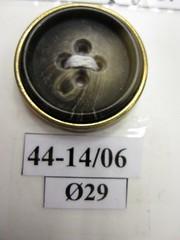 "Пуговица 44-14/06  Ø29 мм 50 р/шт • <a style=""font-size:0.8em;"" href=""http://www.flickr.com/photos/92440394@N04/35696649406/"" target=""_blank"">View on Flickr</a>"