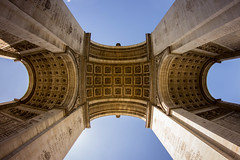 Arc de Triomphe (bhammertime) Tags: 8mm europe t3i canon 2017