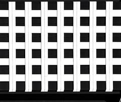Blackand White 2 # 14  ... ; (c)rebfoto (rebfoto ...) Tags: blackandwhite abstract geometry squares rebfoto bw