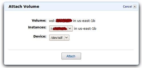 EC2 - EBS Linux 01 @ 20091210