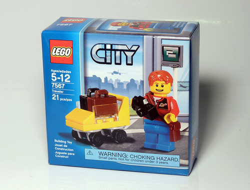 7567 - Traveler - LEGO 2010 CITY - Box
