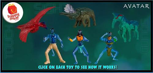 avatar toys mcdo
