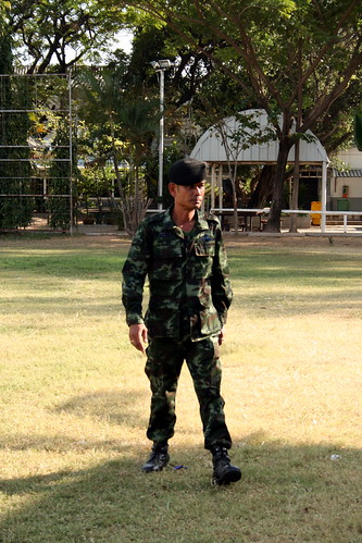 Thai Army Captain