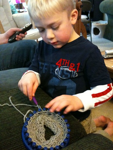 A really good knitter