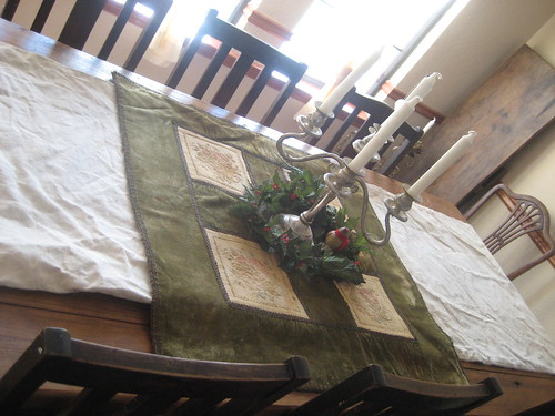 Cotton Sack Table Runner