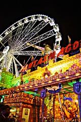 Perspective (Danni Guzzi Schmidt) Tags: park amsterdam wheel night canon eos rebel lights amusement colorful ride bright fair ferris xsi phantasmagoria 450d dzguzzi
