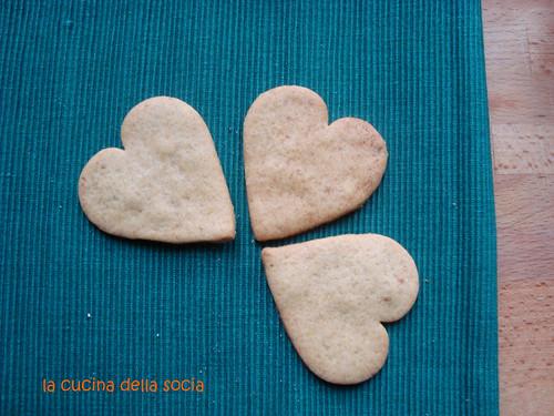 biscottini al miele arancia e cannella