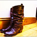 Day Thirty - Resting Boots
