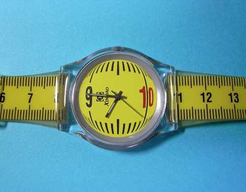 中国で買った定規な時計