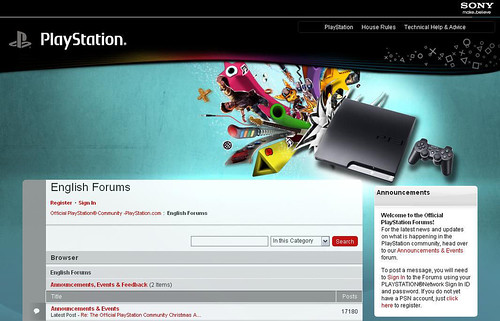 Official PlayStation Forums Redesign