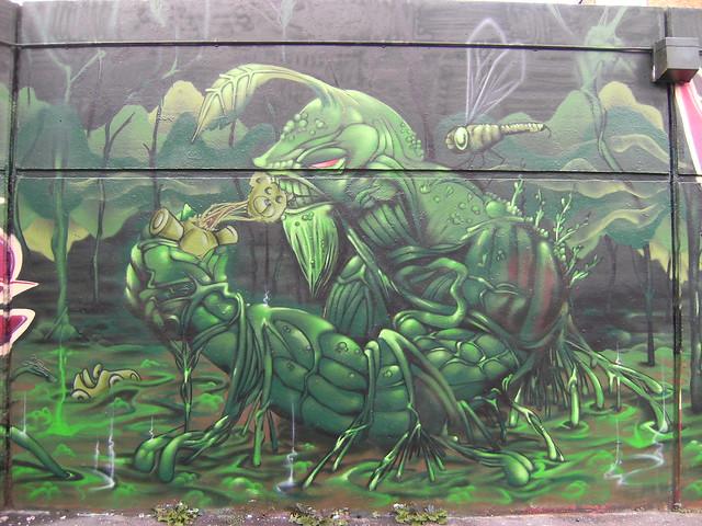 Bonzai. Swamp Thing.