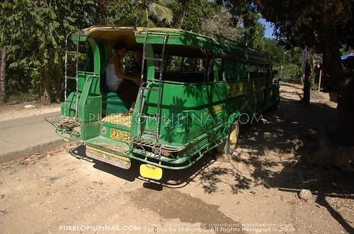 Nueva Valencia Jeepney Parked