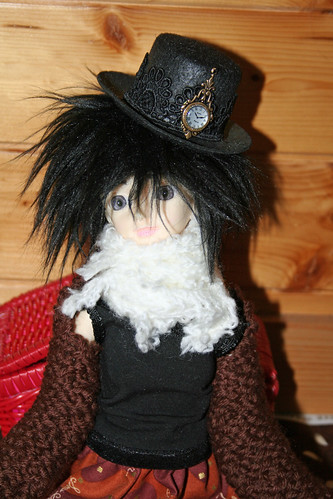 steampunk BJD hat