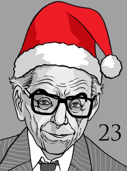 Paul Erdős Santa