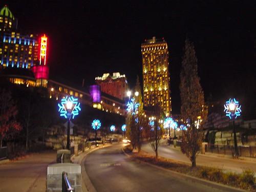 Christmas lights in niagara on the lake   christmas 2010: pvc christmas tree