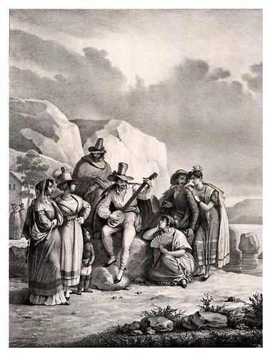 014-Vestimentas de San Paulo-Zwinger Gustave Phillipe- Viagem pitoresca através do Brasil 1835
