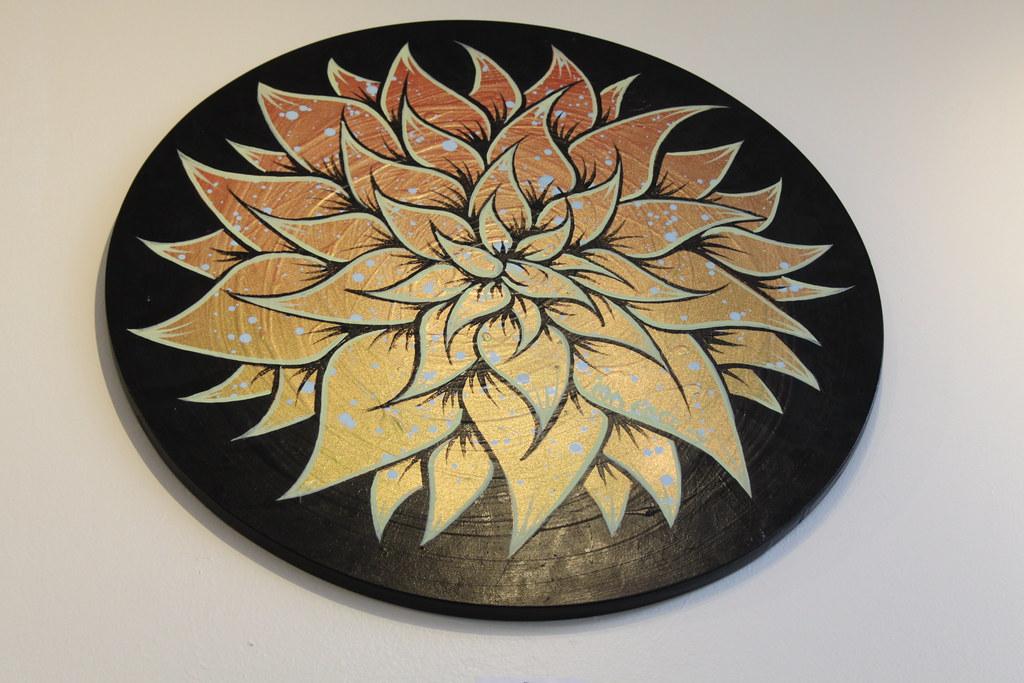 """Blossom"" by Ian Ross - $300"