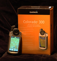 Garmin Colorado 300 and box