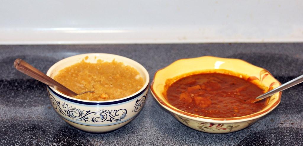களி & சாம்பார்