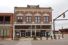 Oklahoma, Enid, S. H. Kress & Company (Gone) (7,502) (EC Leatherberry) Tags: oklahoma kress varietystore sign garfieldcounty 1908 gone