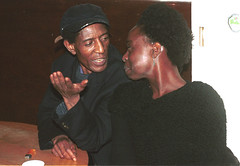 Ms Brazil & African Writer Wilson Katiyo (RIP) at the Africa Centre London Sept 2001 009 (photographer695) Tags: africa 2001 brazil london african centre rip ms wilson writer sept katiyo