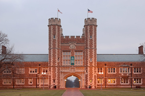 Washington University, in Saint Louis, Missouri, USA - Brookings Hall