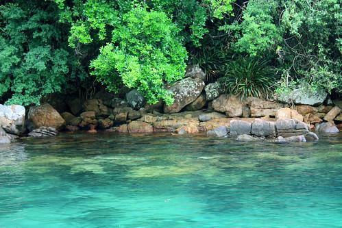 Lagoa Azul brasil angra dos reis ilha grande praia passeio de escuna paraiso paradisiaca