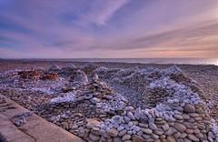 Amroth pebble sculpture (Mike Mckenzie8) Tags: sculpture beach wales pebble pembrokeshire amroth