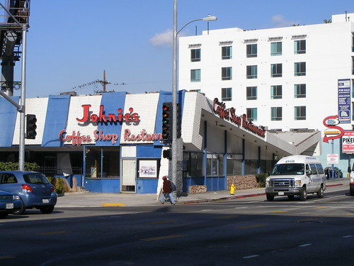 Johnie's Coffee Shop, Wilshire at Fairfax