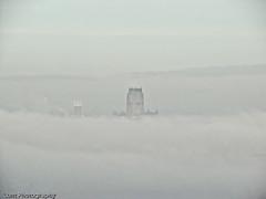 Fog across the Mersey (Lunt Photography) Tags: fog liverpool birkenhead mersey wirralliverpool