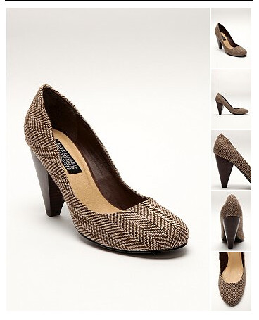 Menswear Patterned Pump