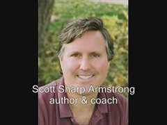 How to Write a Profit Producing Book: Author Scott Armstrong Testimonial for The Instant VIp by Ronda Del B occio, the Story Lady