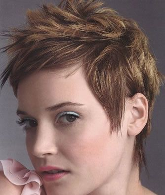 Funky Hairstyles. Modern Chic