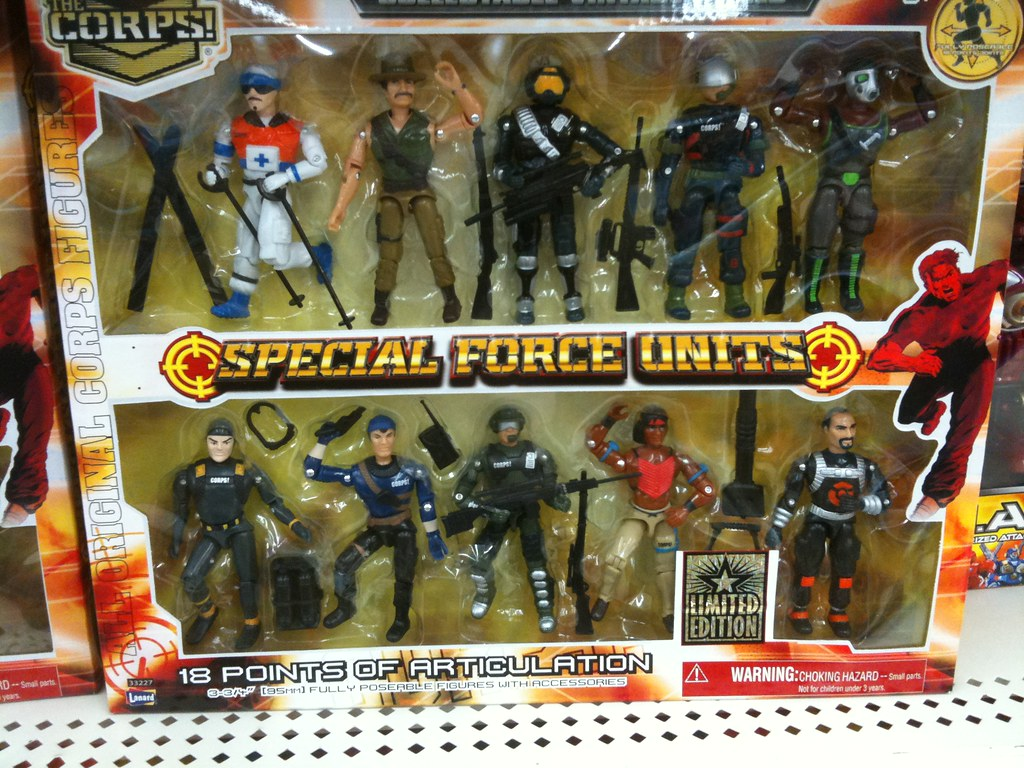 Corps Army Toys 33