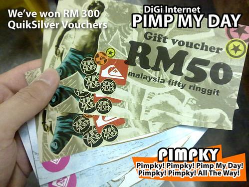 RM300 QuickSilver's voucher