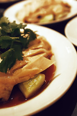 Hainanese Chicken Rice (Abllo) Tags: food chicken canon wow cuisine eos yummy rice bokeh chinese malaysia hainanesechickenrice malaysian ameer hainanese 450d abllo