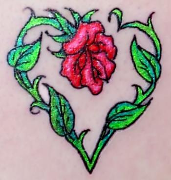 tatoo coração