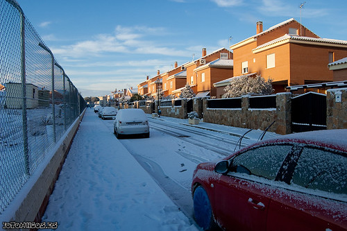 La aventura de ir al trabajo el día de la nevada en Madrid