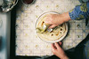 breakfast from my childhood (Joe Pepper) Tags: morning grandma film kitchen table hands circles tudor 200 meal pancake lithuania