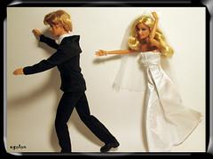 My husband's idea of a wedding day...