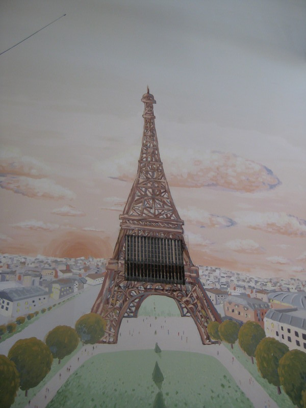 Eiffel Tower on Mural
